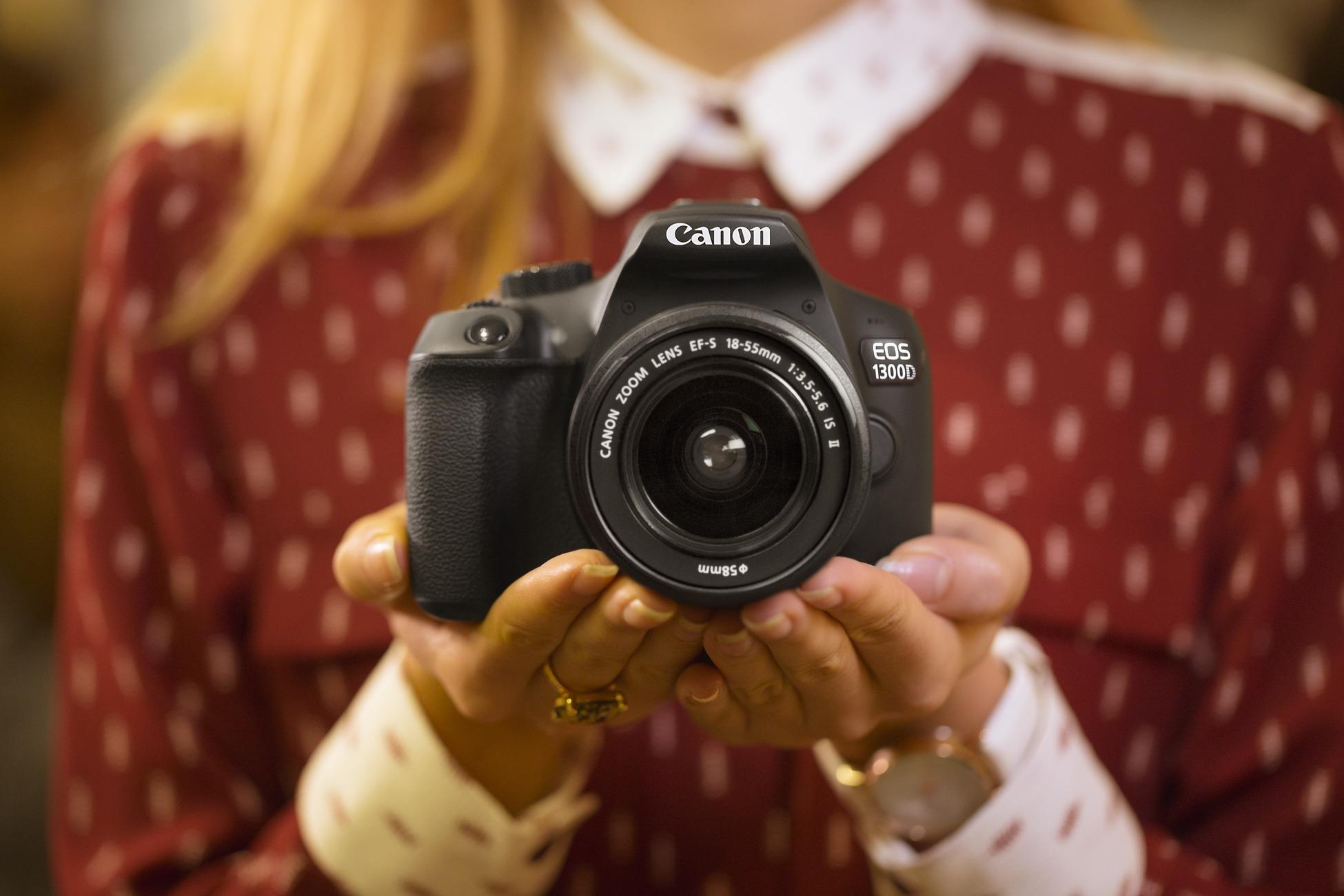 как фоткать на фотоаппарат кэнон первую