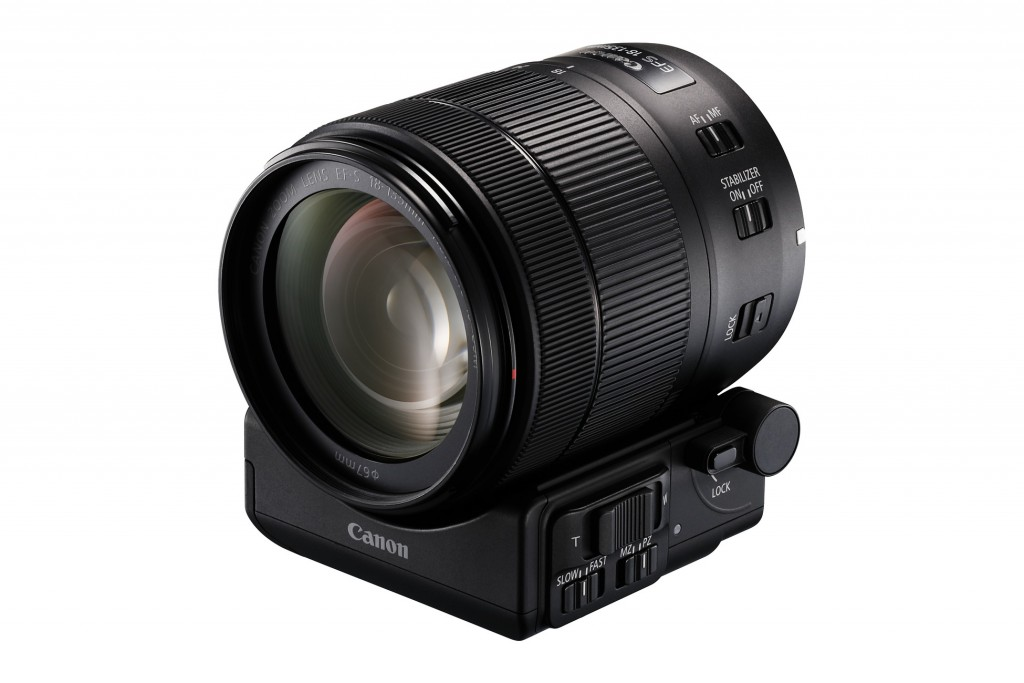 18-135 met Power Zoom Adapter PZ-E1